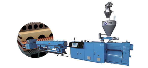 Wood Plastic Profile Extrusion Equipment