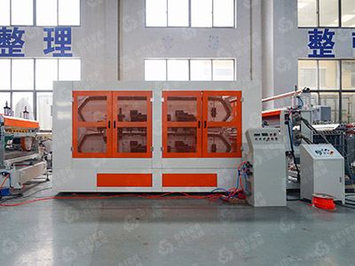 PVC Corrugated Roof Tile Extrusion Line