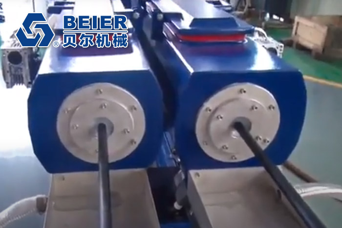 PP-R Dual Pipe Extrusion Line