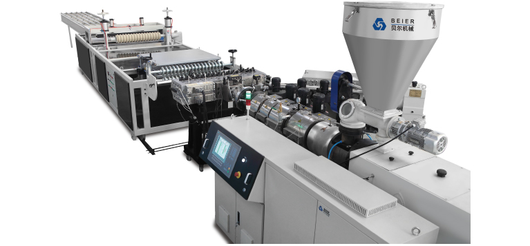 PVC+ASA/PMMA Roof Tile Production Line | plastic pipe extrusion