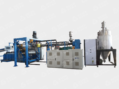PC PMMA PS MS Sheet Extrusion Production Line