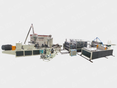 PVC+ASA/PMMA Glaze Roof Tile Production Line