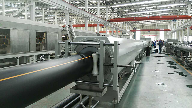 Gas Pipe Extrusion Line