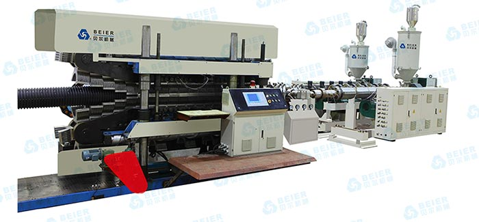 corrugated-pipe-extrusion-line