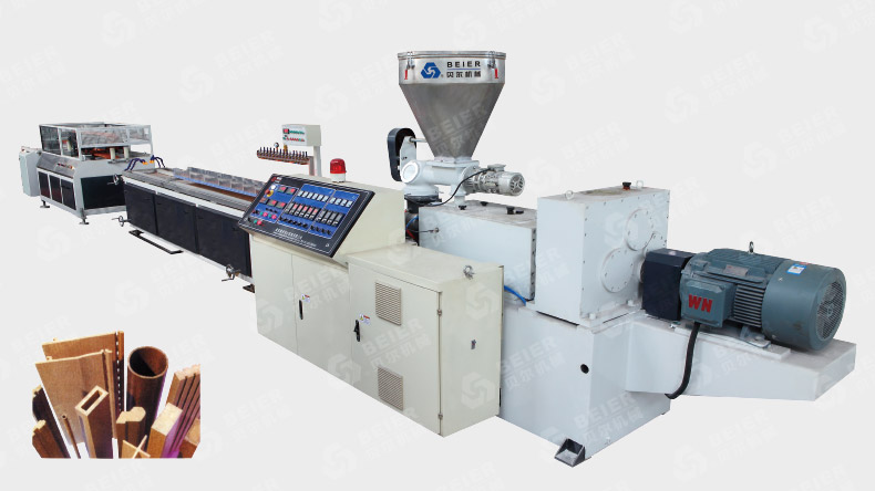 Wood Plastic Profile Extrusion Machine