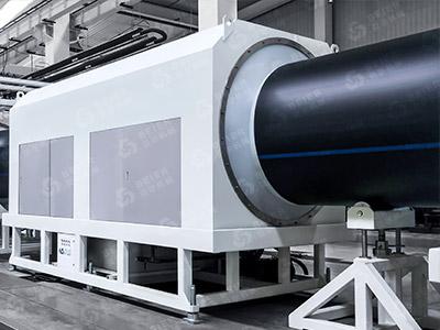 HDPE Plastic Pipe Extrusion Machine