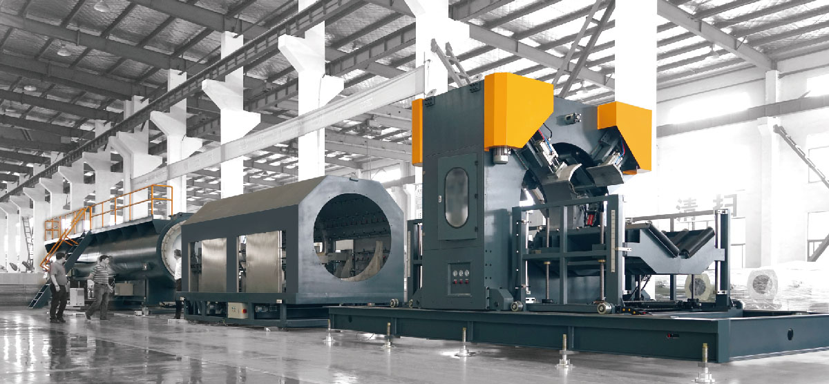 High Speed High Efficiency Extrusion Production Line