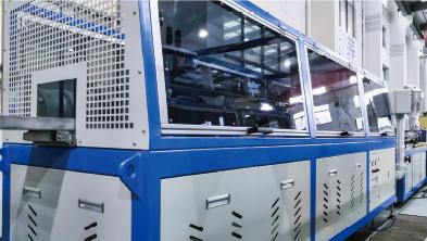 PVC Profile Extruder Line