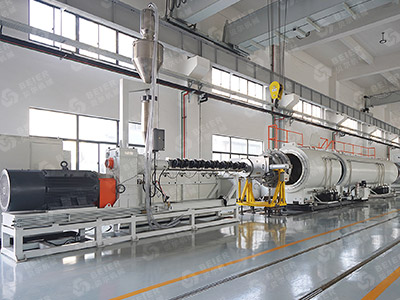 500-1200mm HDPE Pipe Extrusion Line