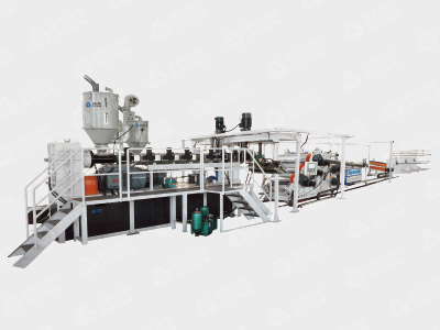 PP PE PS ABS Sheet Extrusion Production Line