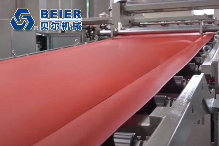 Two Layer PP Sheet Extrusion Line