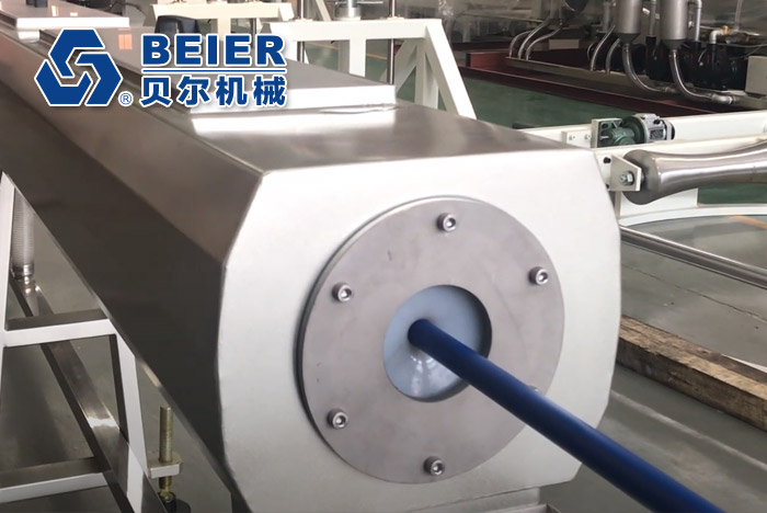 PP + Glass Fiber Pipe Extrusion Line