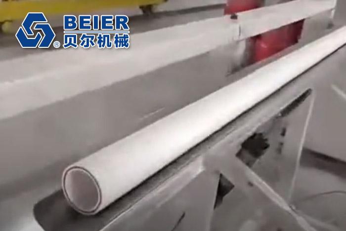 PPR + Fiber Glass Three Layer Pipe Extrusion Line