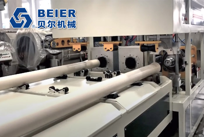 50-160mm PVC Pipe Double-strand Extrusion Line