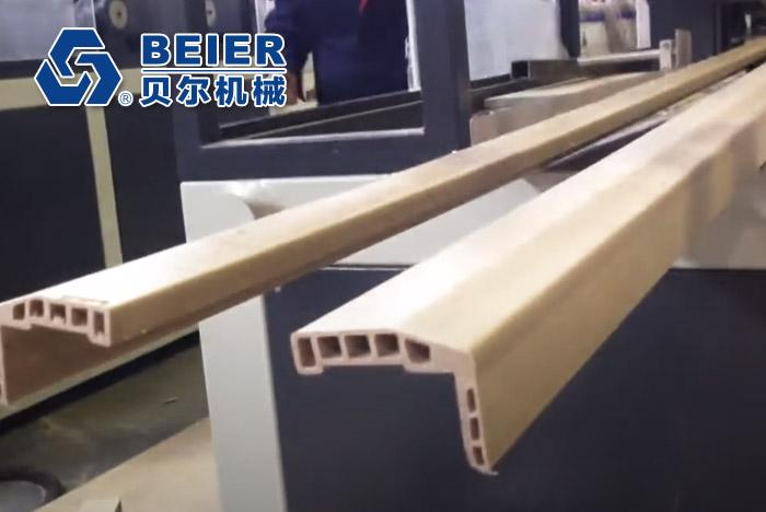 PVC / WPC Door Frame Profile Extrusion Line