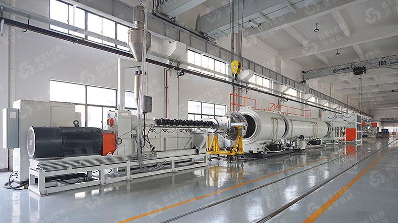3 Layers HDPE Pipe Extrusion Machine