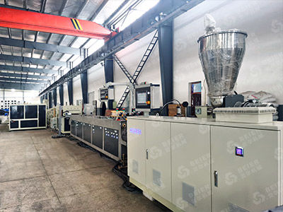 PVC Four Strand Pipe Extrusion Line