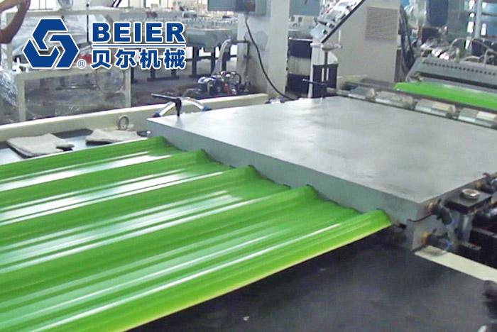 PVC Roof Tile ExtrusionMachine