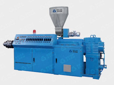 PVC Dual Pipe Extrusion Line